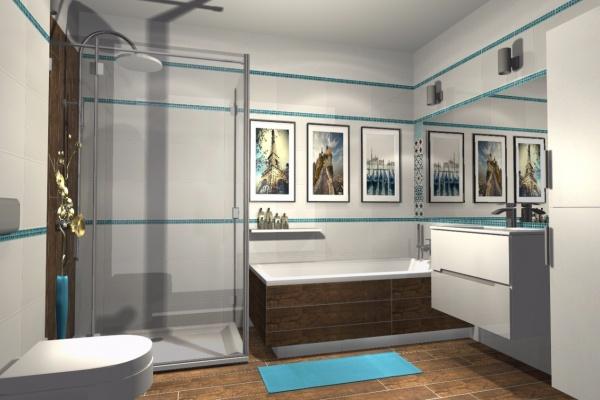 Vizualizace koupelen